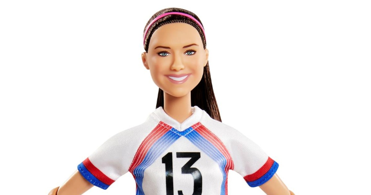 Soccer Star Alex Morgan Is The Newest Role Model Barbie & I *Love* Her