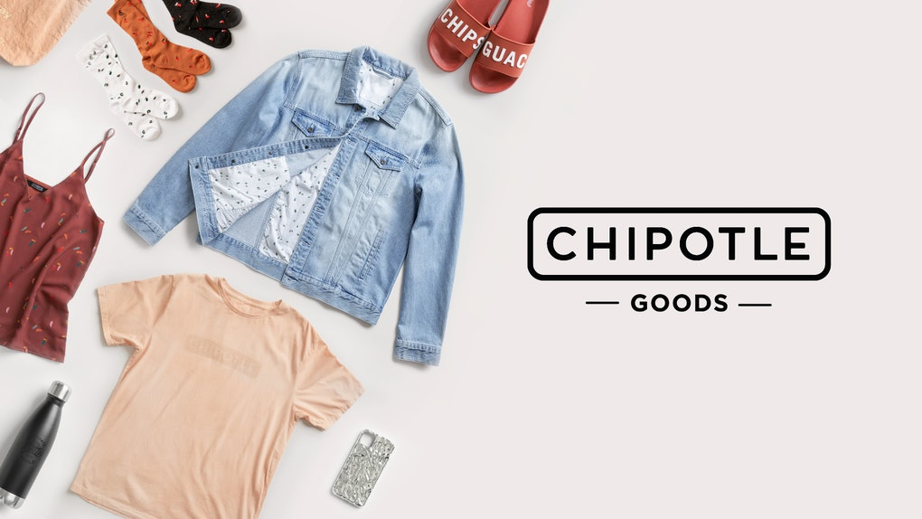 This Chipotle Good apparel line includes avocado-dyed clothes