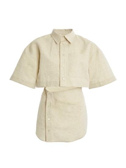 Arles Cutout Mini Dress