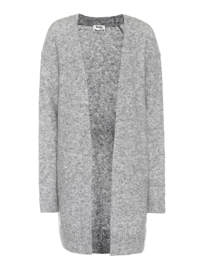 Ray Wool and Mohair Blend Cardigan