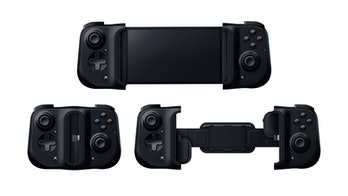 Razer Kishi mobile gaming controller.