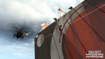 Call of Duty Modern Warfare Vertical Zip Lines