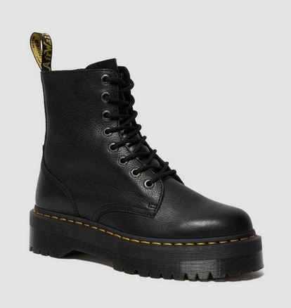 Jaden Pisa Leather Platform Boots