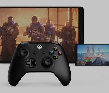 Microsoft xCloud game streaming service.