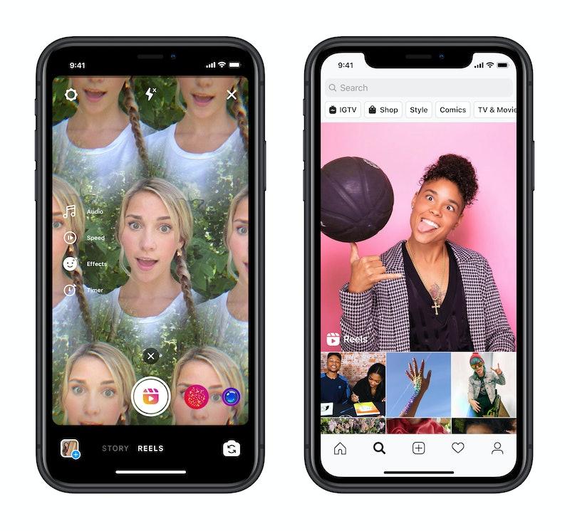 IG Reels is Instagram's new video feature.