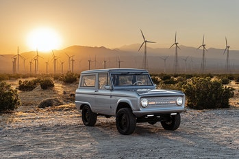 An electrified Ford Bronco from Zero Labs