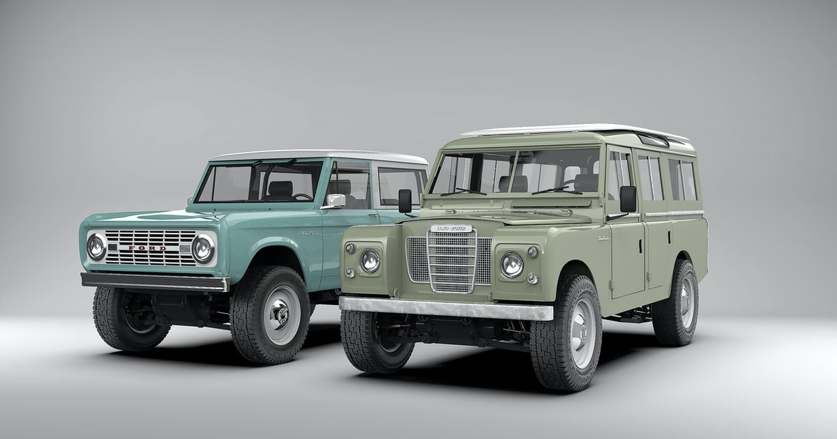 Can't wait for an electric Bronco? Zero Labs will convert the original
