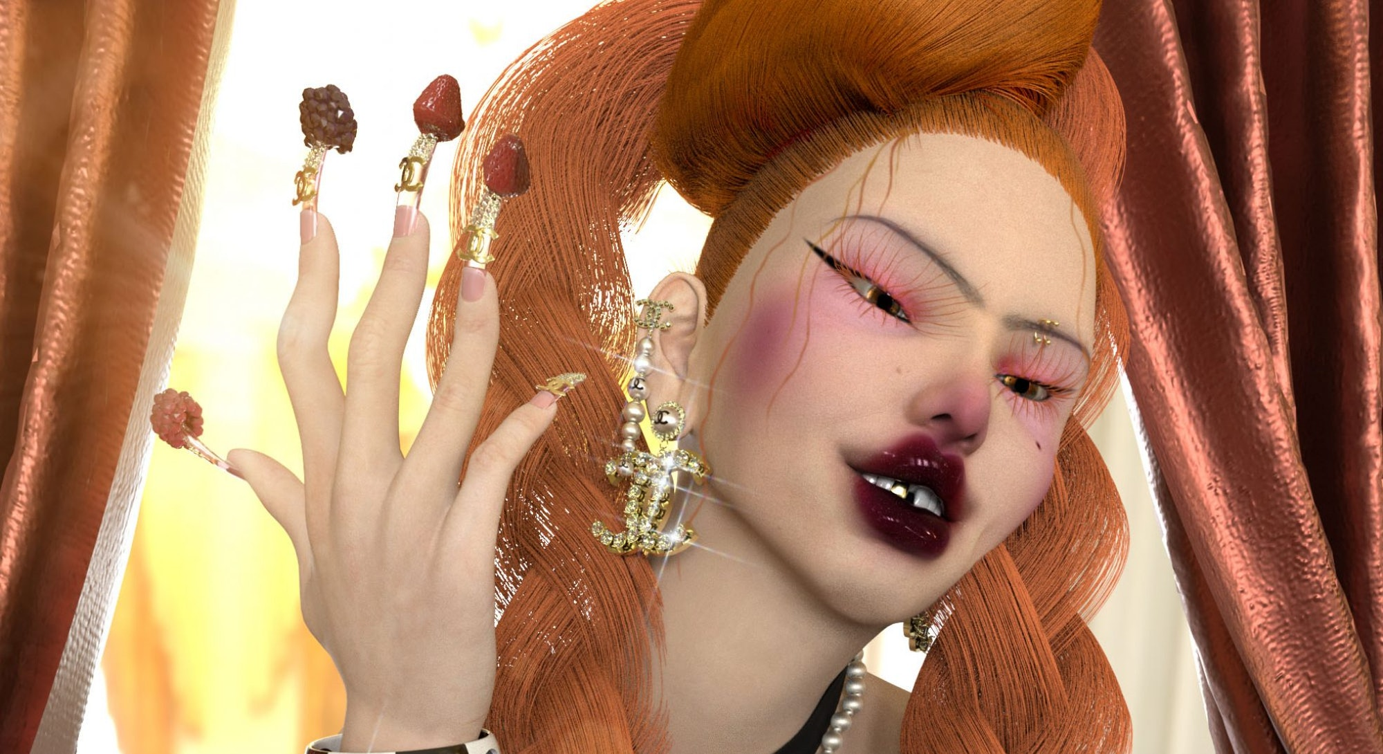 Rujona Cantoni's 3D designs.