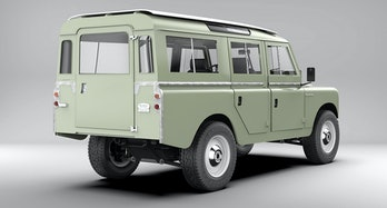 An electrified Land Rover Series III from Zero Labs
