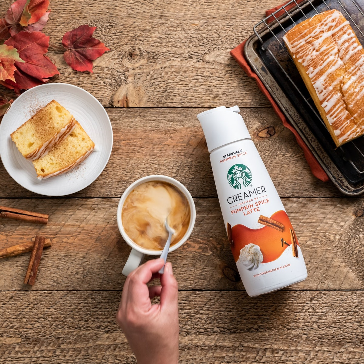 Starbucks' at-home fall 2020 products include the return of its PSL coffee creamer.
