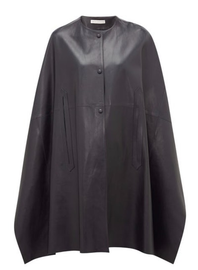 Gunther Leather Cape