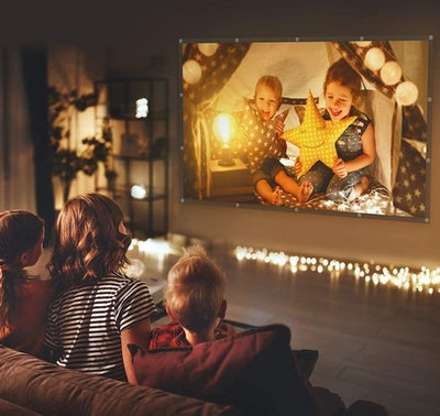 VANKYU StayTrue 120-Inch Projector Screen