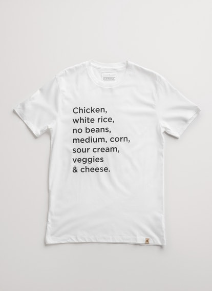 Chipotle Custom Order Tee