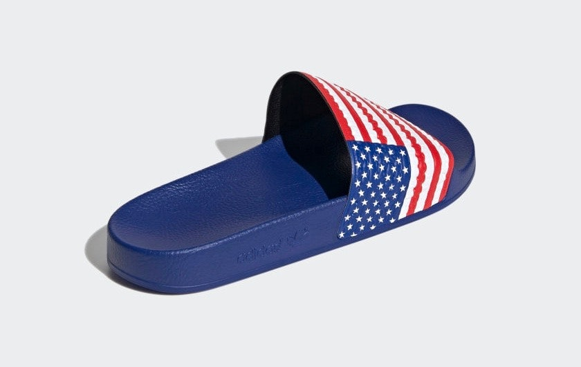 Adidas' 'USA' sandals are a perfect