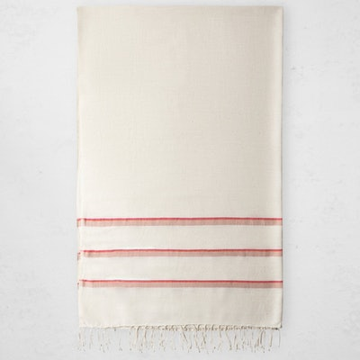 Omo Bath Sheet - Cerise