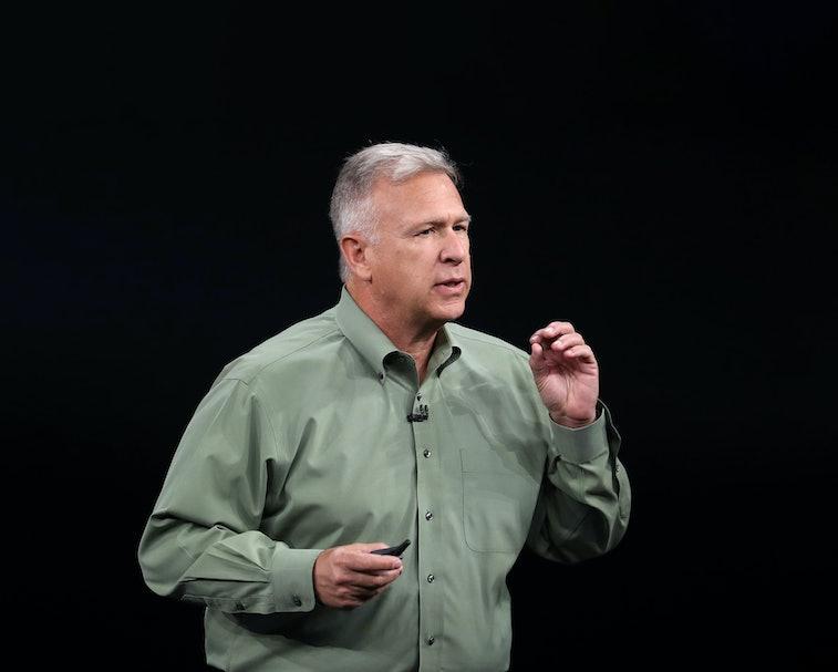 Apple's head of marketing, Phil Schiller