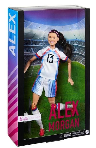 Alex Morgan Barbie Doll