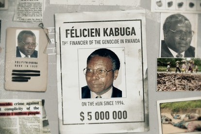 Félicien Kabuga from 'World's Most Wanted' via Netflix press site