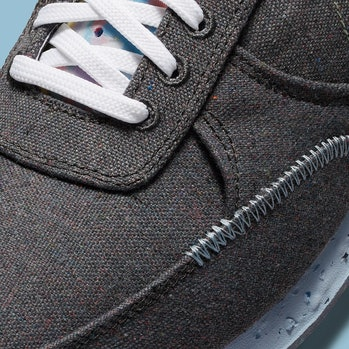 Close-up of Nike's Crater Daybreak Type sneaker