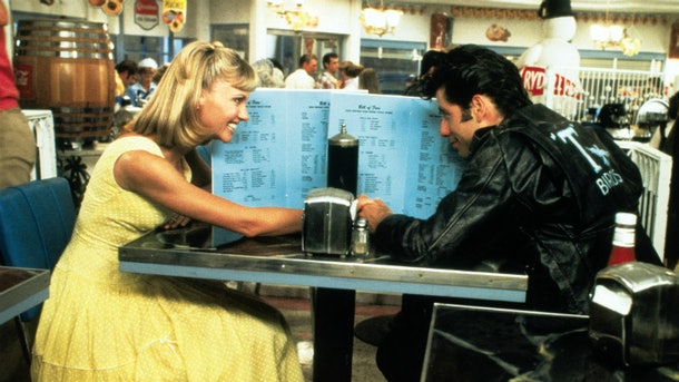 "One of the dates inspired by classic moves is a diner scene in ""Grease."""