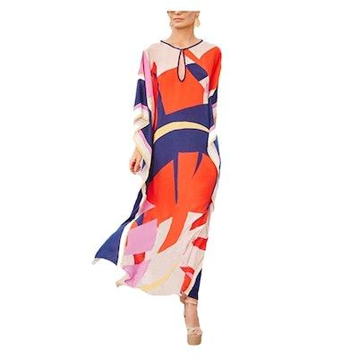 Bsubseach Kaftan Beach Maxi Dress