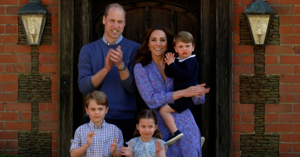 Prince Louis' Birthday Thank You Cards Featured An Adorable Unseen Photo