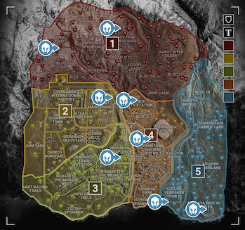 call of duty warzone map helicopter locations