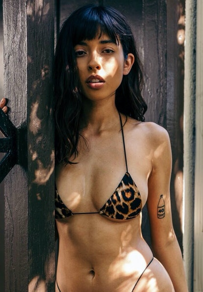 Miya Cheetah Micro Bikini Top
