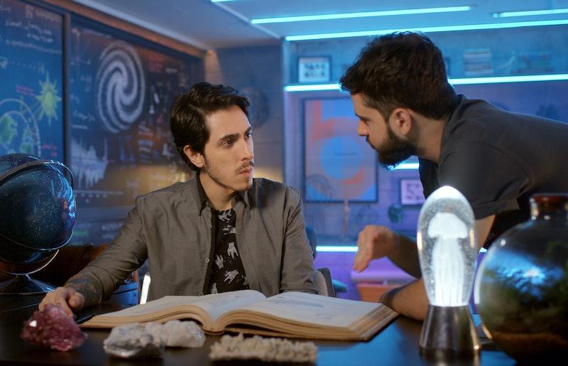 Felipe Castanhari and Bruno Miranda in 'Mystery Lab'