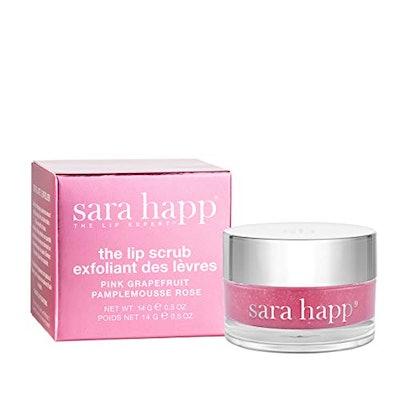 sara happ The Lip Scrub, Pink Grapefruit
