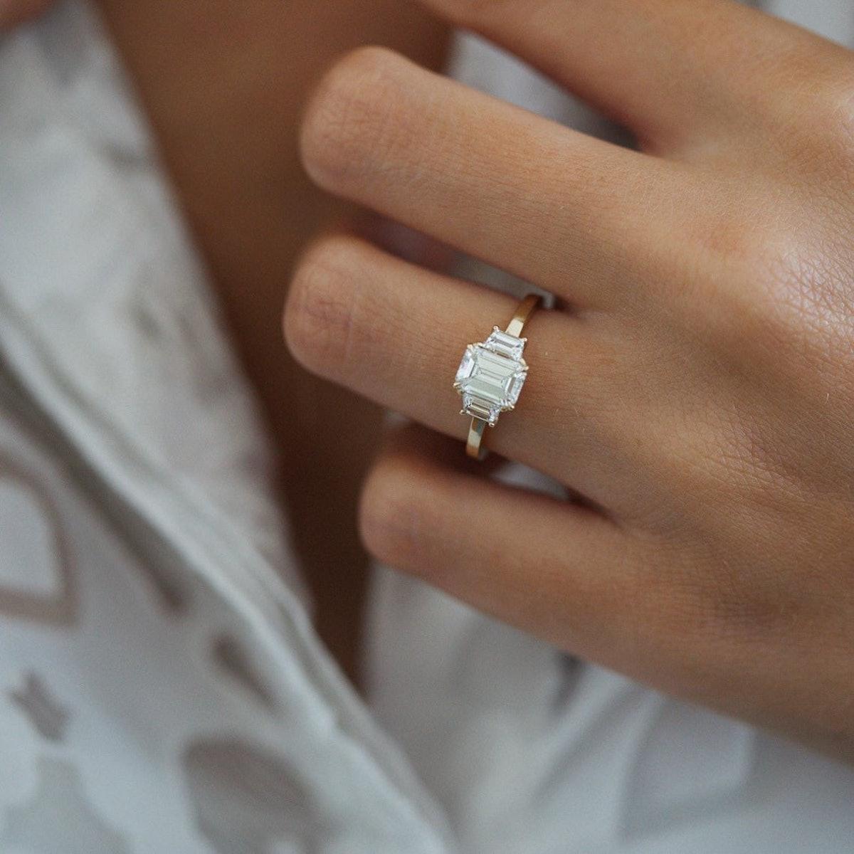 """La Maddalena"" Diamond Engagement Ring"