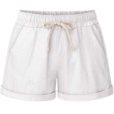 HOW'ON Women's Drawstring Beach Shorts