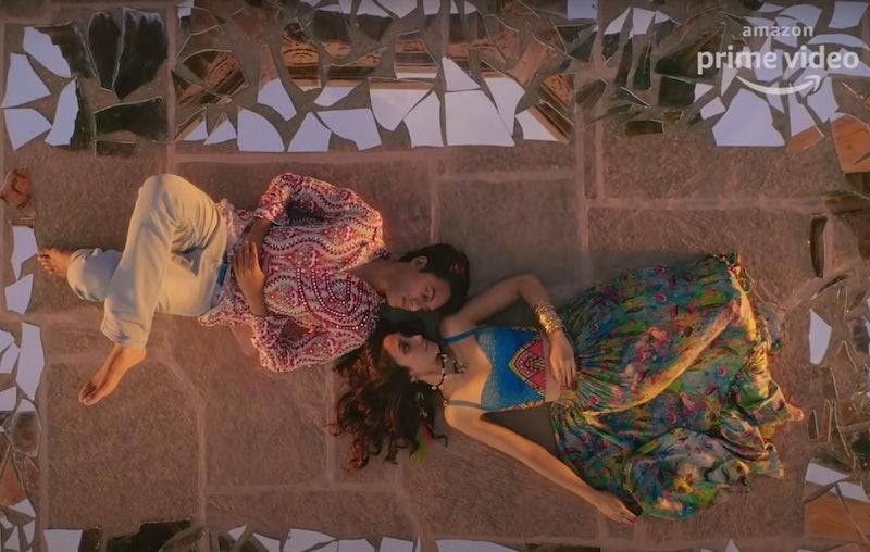 Shreya Chaudhary as Tamanna and Ritwik Bhowmik as Radhe in 'Bandish Bandits'