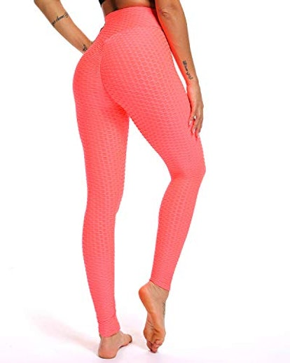 FITTOO High Waisted Scrunched Booty Leggings