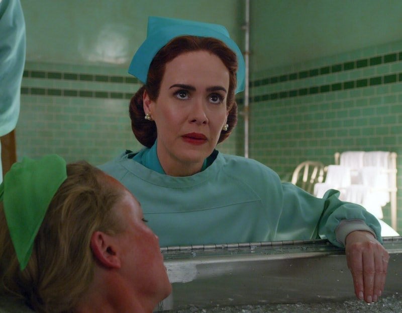 Sarah Paulson stars in the Netflix series Ratched.
