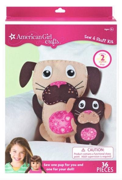 American Girl Crafts Dogs Sew & Stuff Activity Kit