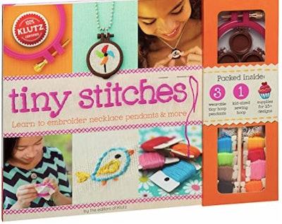 Klutz Tiny Stitches Sewing & Craft Kit