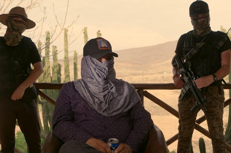 "Ismael ""El Mayo"" Zambada García in 'World's Most Wanted' via Netflix press site"