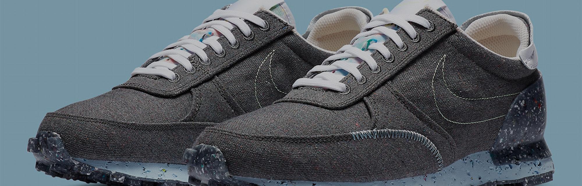 Nike's Crater Daybreak Type sneaker three-quarter view