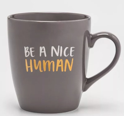 27oz Stoneware Be A Nice Human Mug