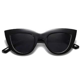 SOJOS Retro Vintage Cateye Sunglasses