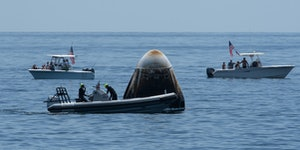 Musk Reads: SpaceX Crew Dragon returns