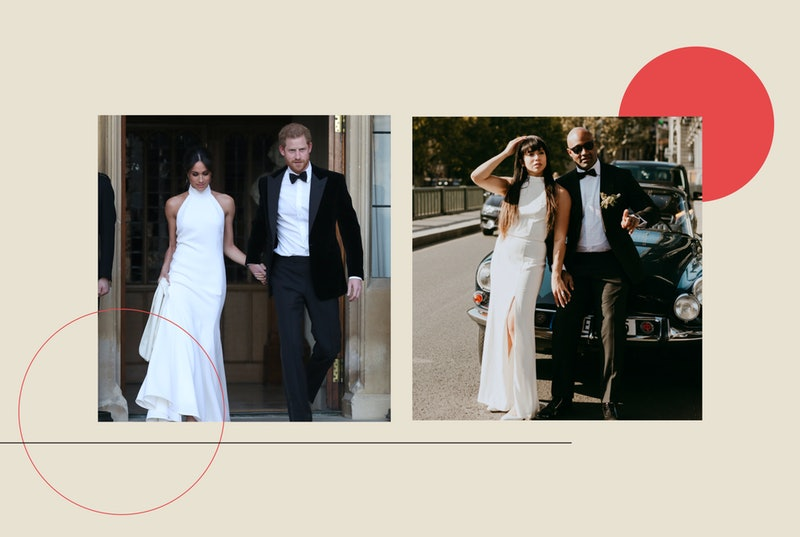 Meghan Markle inspired my wedding dress