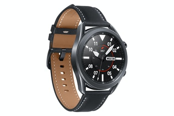 The Galaxy Watch 3.