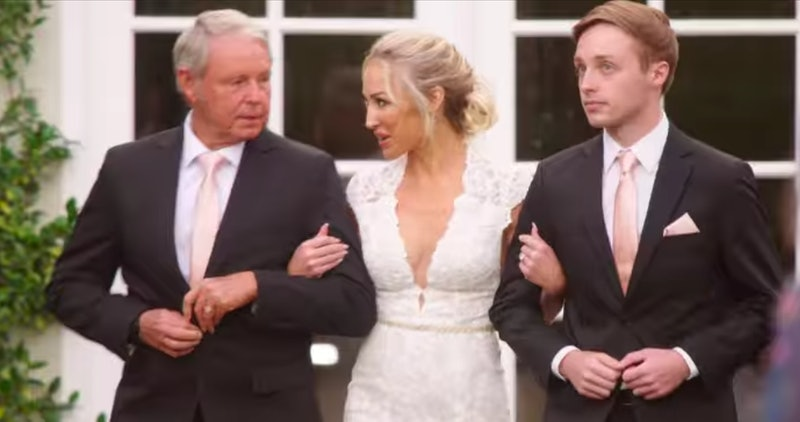 Mary Fitzgerald with her father and son Austin in 'Selling Sunset' Season 2 via screenshot