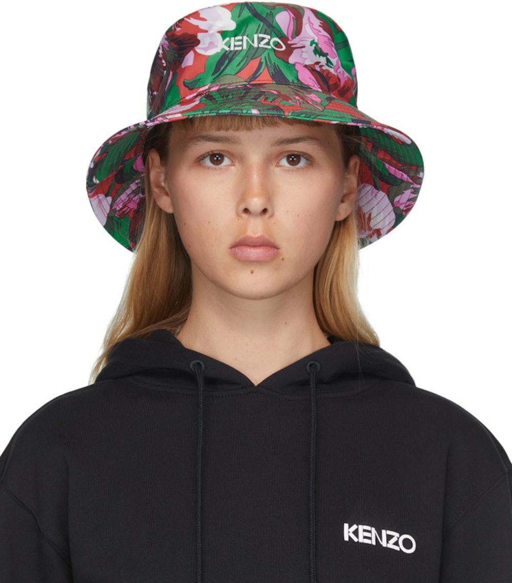 Pink Vans Edition Floral Bucket Hat