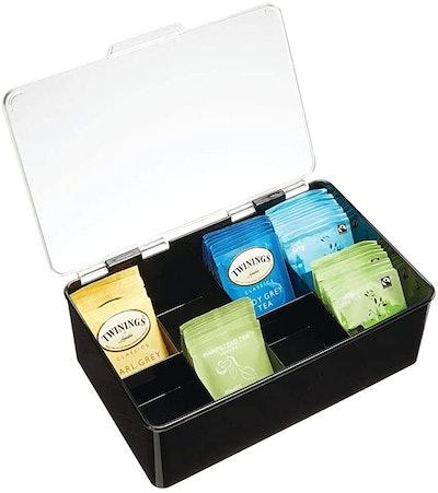 mDesign Stackable Tea Bag Holder