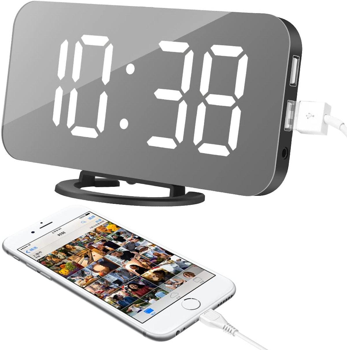 oenbopo LED Alarm Clock