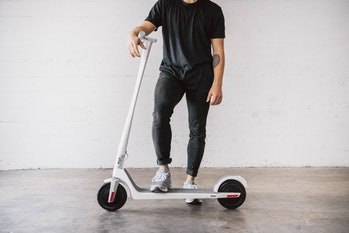 A Model One scooter from Unagi
