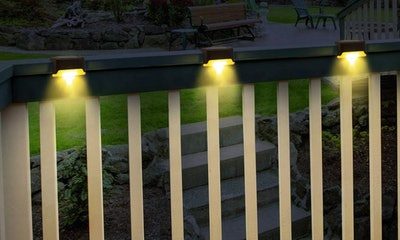 GIGALUMI Solar Deck Lights (12-Pack)